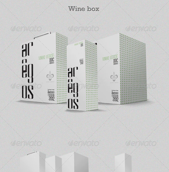 Wine Box Mock-up