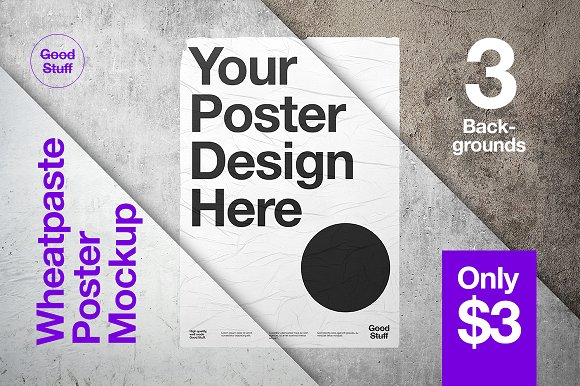 3 Background Poster Template