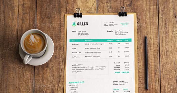 A4 Paper On Wooden Table Mockup PSD
