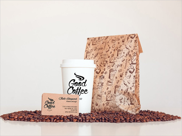 Coffee Packaging Mockup | 40+ Diversified & Unique Coffee Branding PSD & Vector Template 4