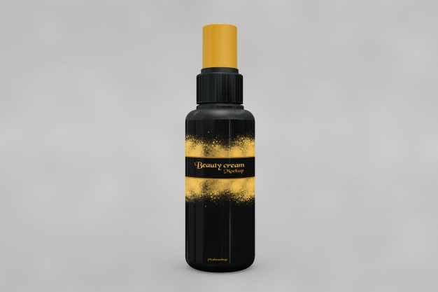 Attractive Spray Bottle Mockup