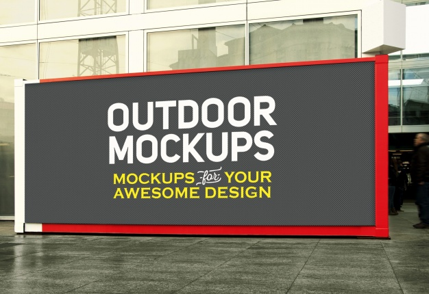Awesome Outdoor PSD Free template for Download
