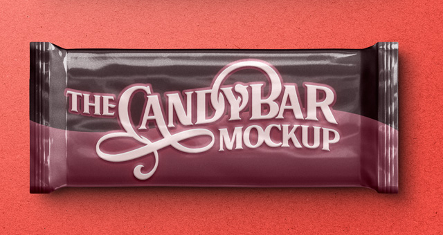 Bar of Candy Mockup:
