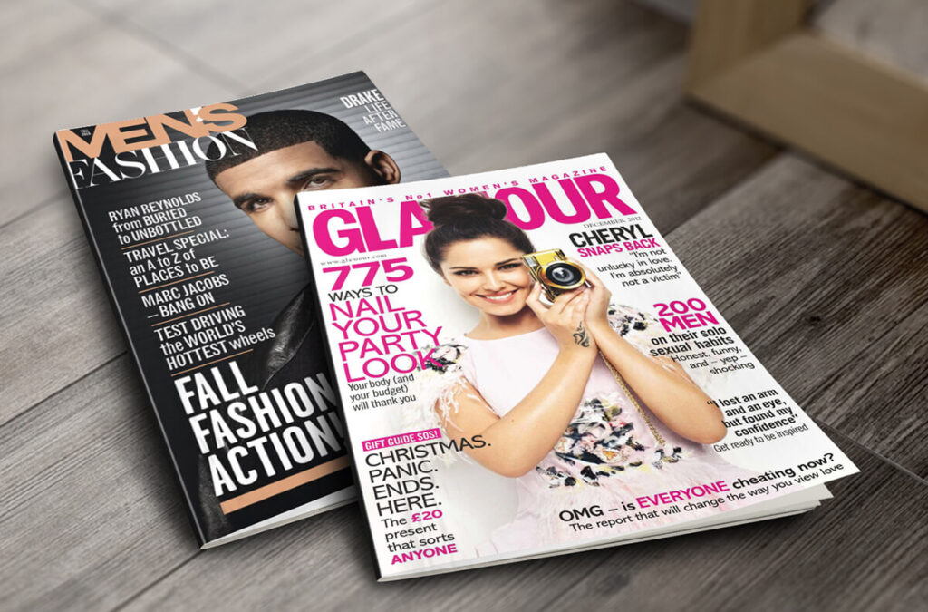 Beauty and Fashion Magazine Mockup