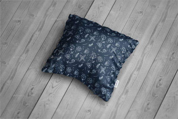 Black Color Amazing Pillow Design