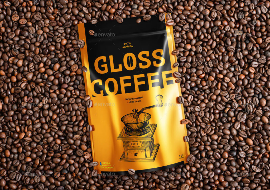 Coffee Package Mockup