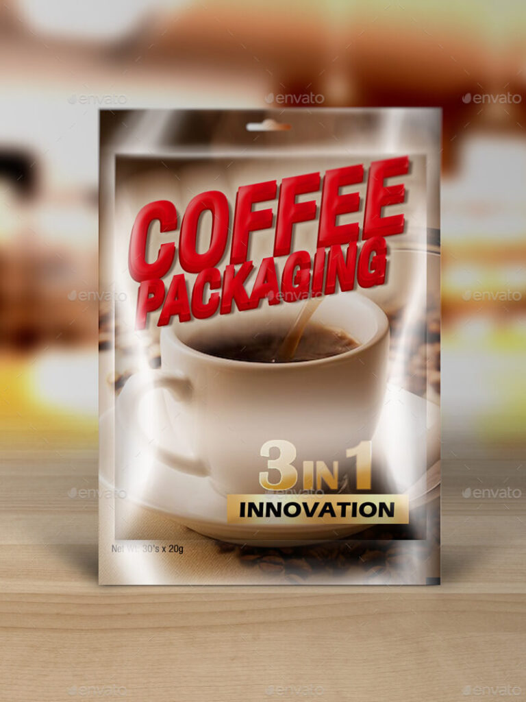 Coffee Packaging Mockups Vol1