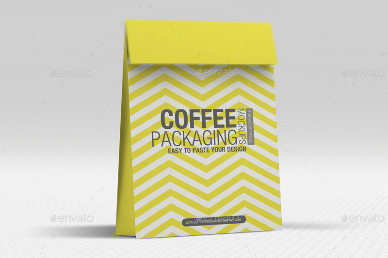 Coffee Packaging Mockups Vol2