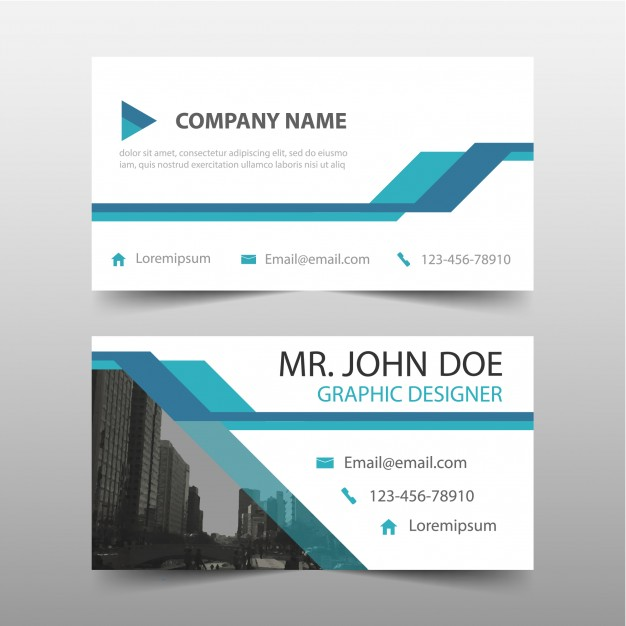 Company Name Card Vector Format Image