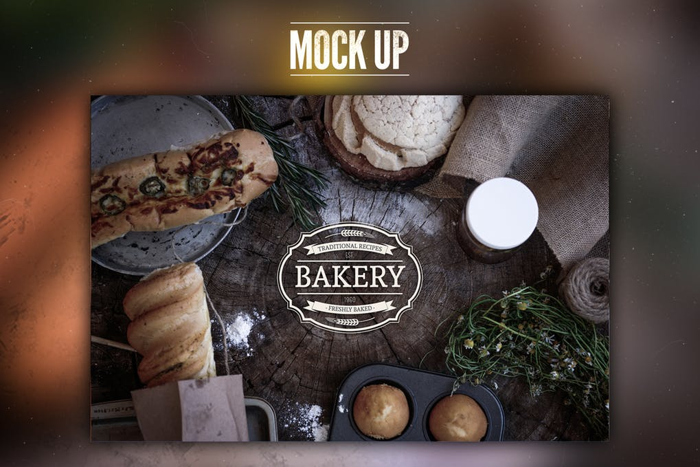 Customizable Bakery PSD