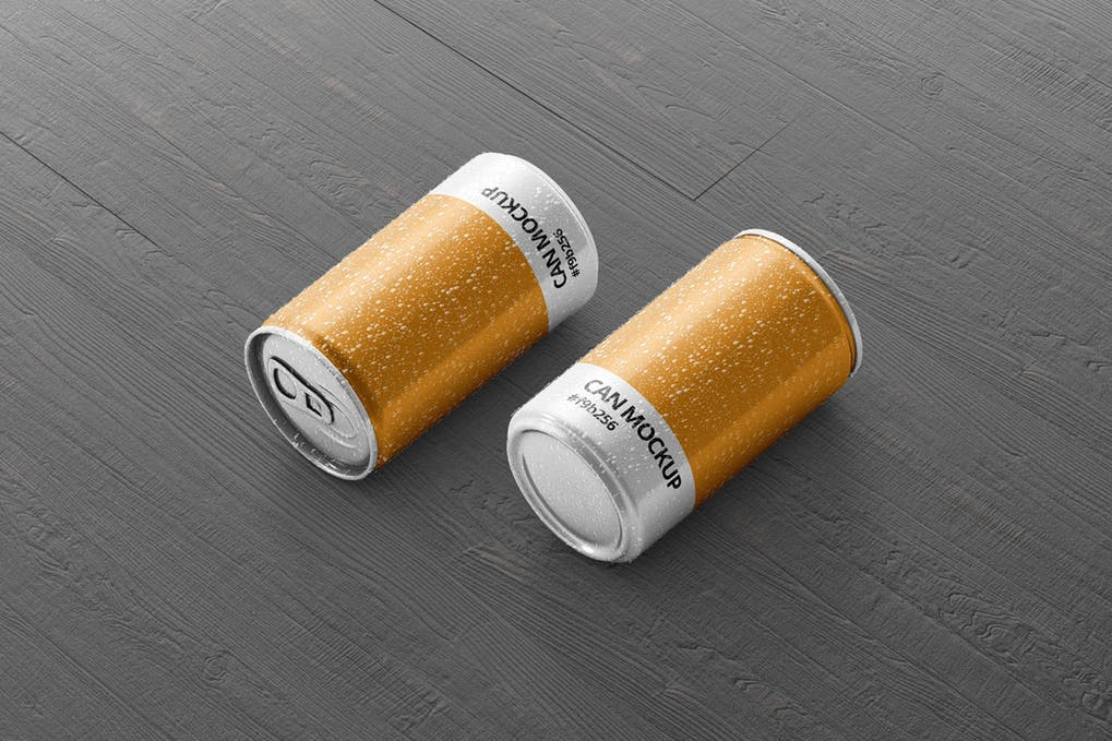 Cylindrical Energy Drink Can PSD