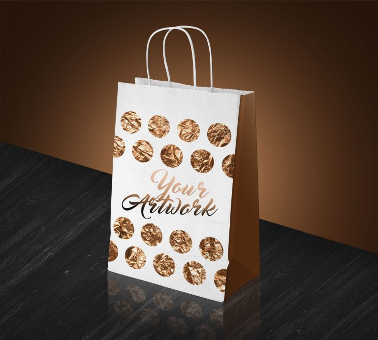Designing Shopping Bag Mockup PSD