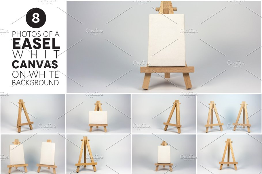 Easel In The Different Angles
