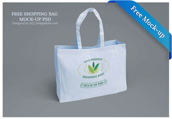 Eco-Friendly Shopping Bag Mockup
