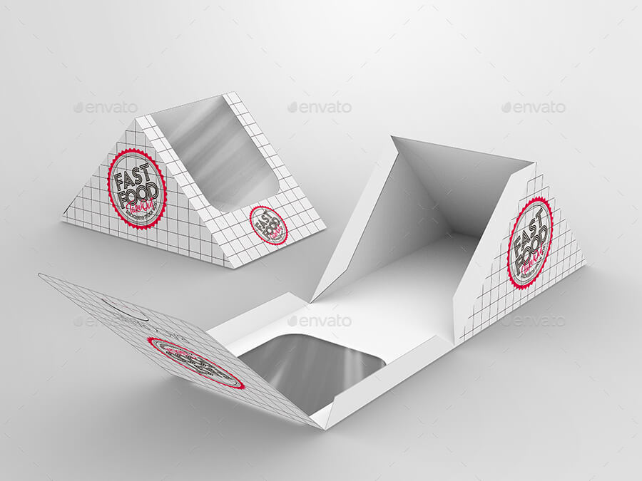 Fast Food Boxes Vol.11:Take Out Packaging Mock Ups