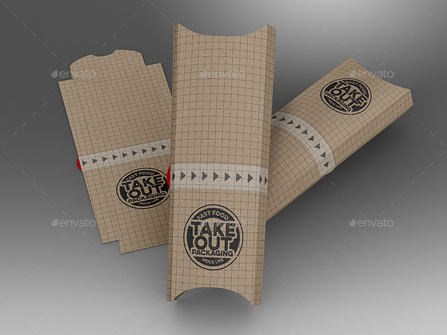 Fast Food Boxes Vol.12: Take Out Packaging Mock Ups