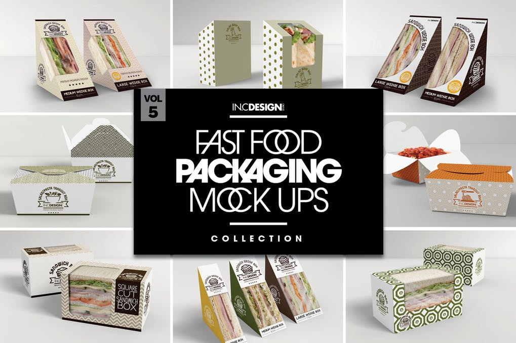 Fast Food Packaging Mockup