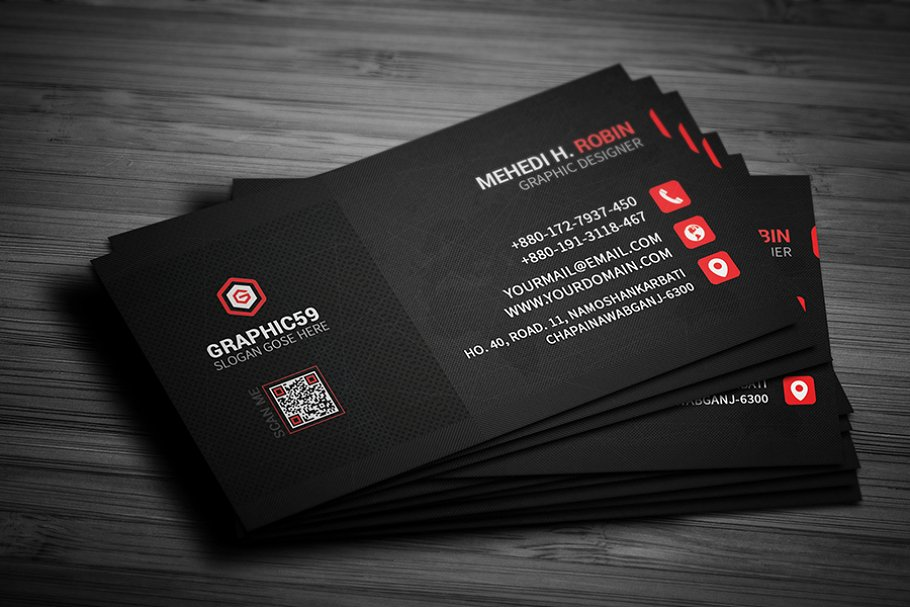 Fine Business Card PSD