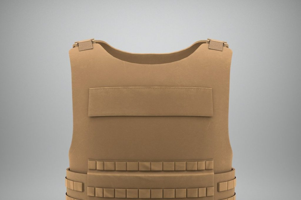 Flake Jacket Vest Of Military PSD.