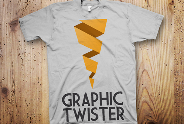 Flat Best Graphics T-shirt PSD template
