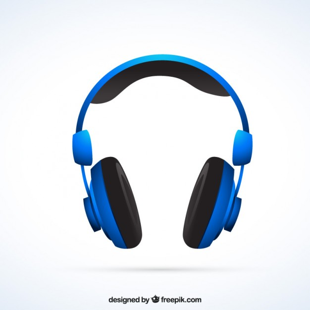 Free Headphone PSD Vector.