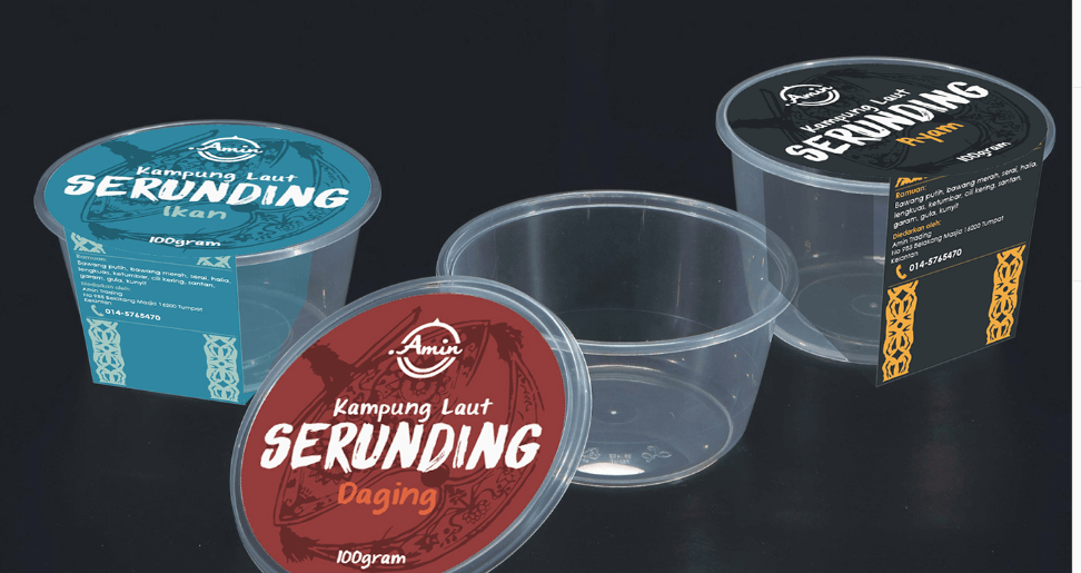 Free PSD Multiple Plastic Container Box