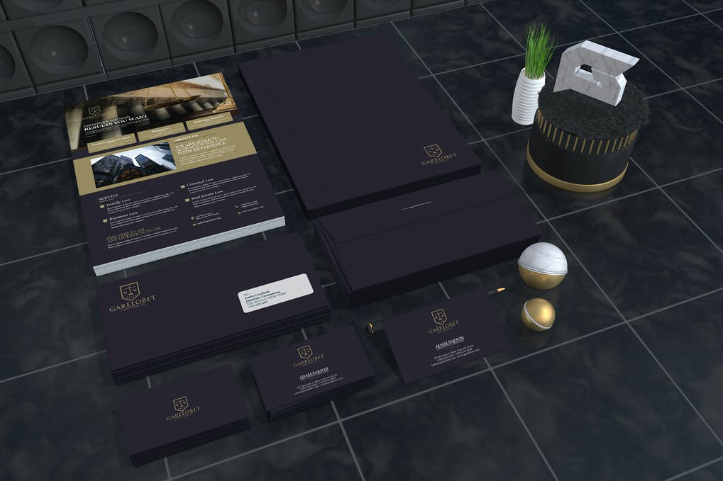Garelobet - Law Firm Corporate Identity