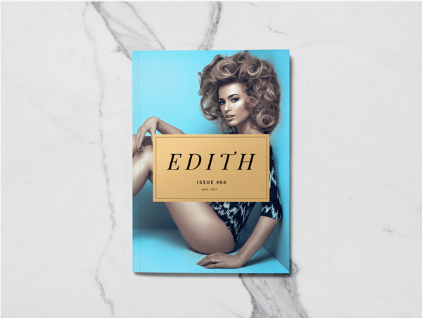 Limited Edition Photo realistic Magazine Template