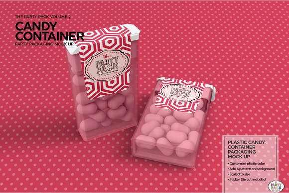 Mouth Freshener Candy Mockup: