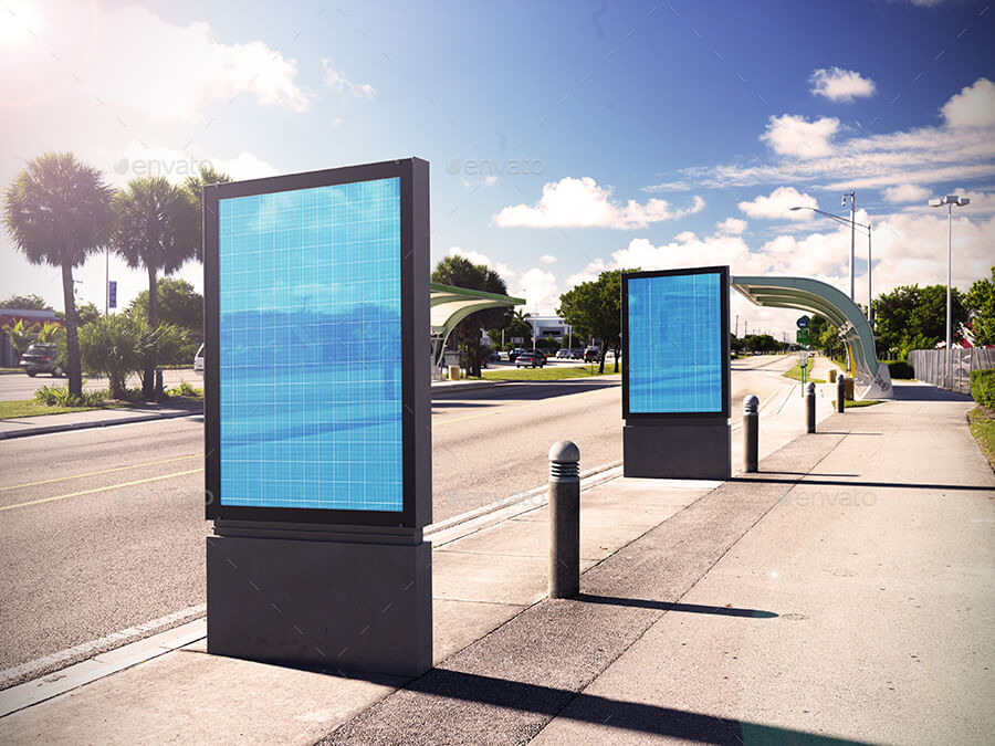 Outdoor Ads Mockup