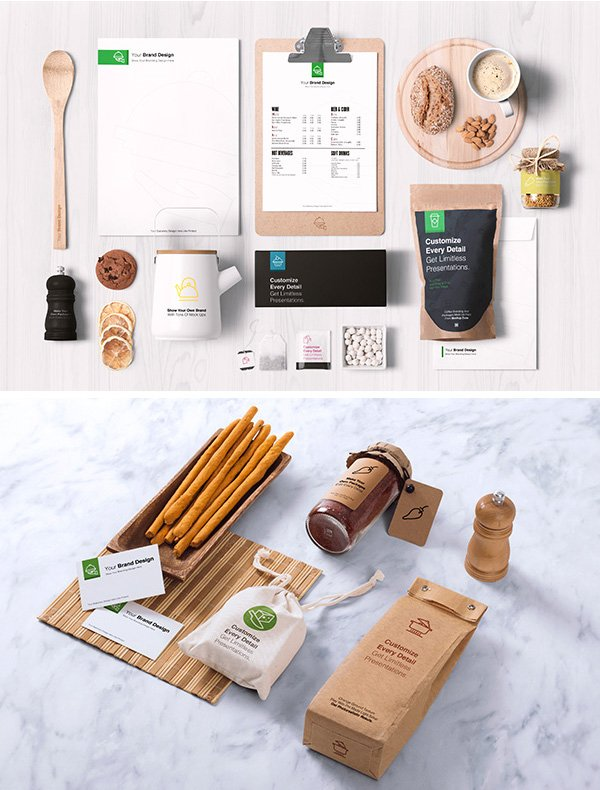 Packaging and Identity Mockup
