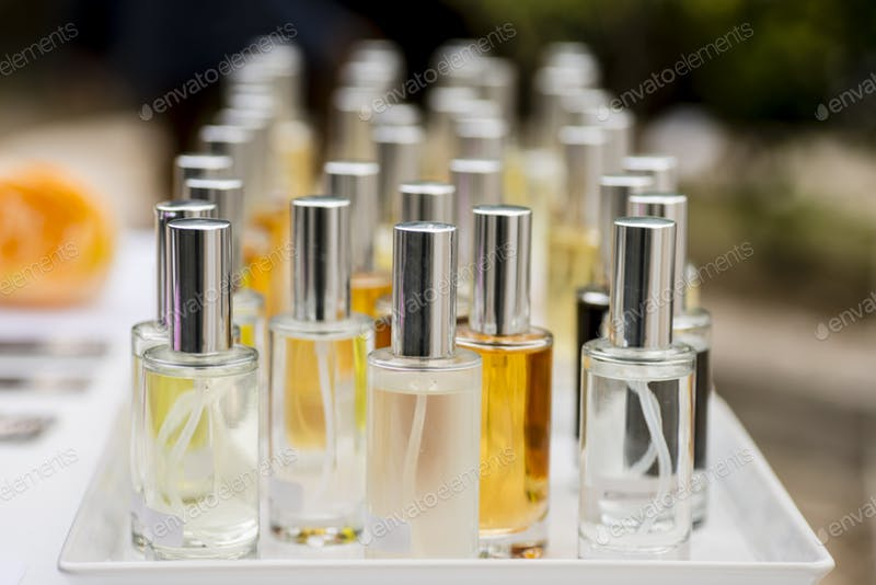 Perfume Testers Bottle PSD File.