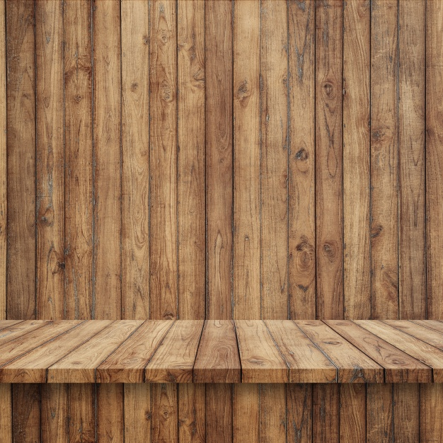 Photo Of A Wood Background And Surface Mockup Free