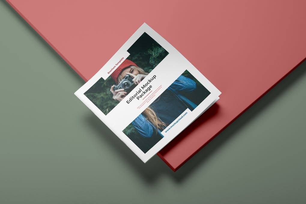 Photography Booklet Mockup