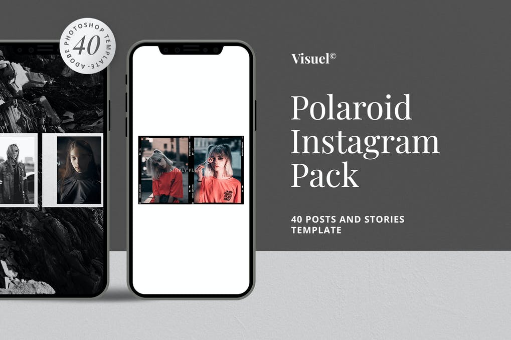 Polaroid - Instagram Pack Template