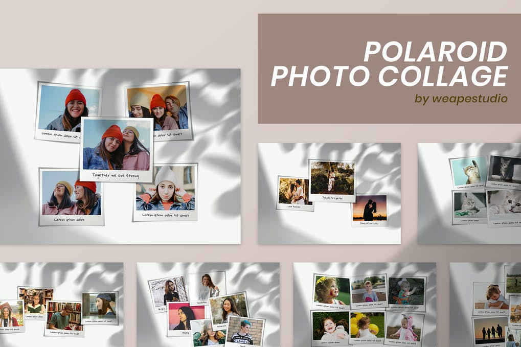 Polaroid Photo Collage