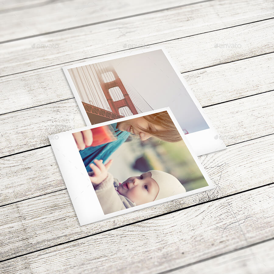 Polaroid Photo Mockup