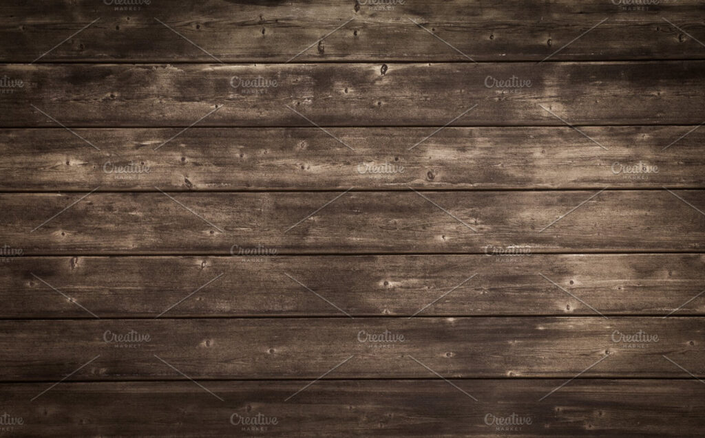 Rustic Wooden Texture Background Mockup