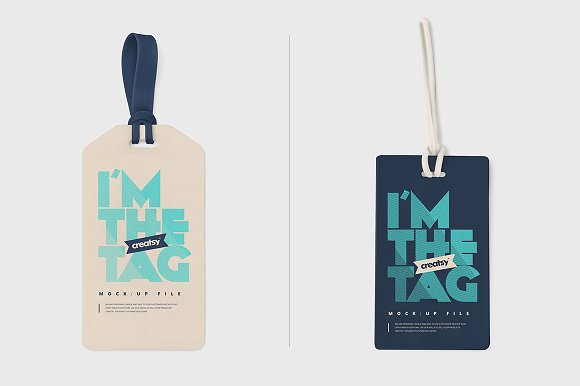 Set of Two Tag Designs