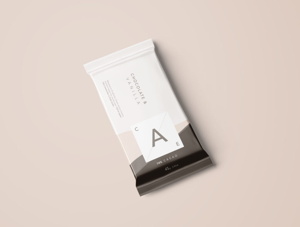 Simple Candy Bar Mockup: