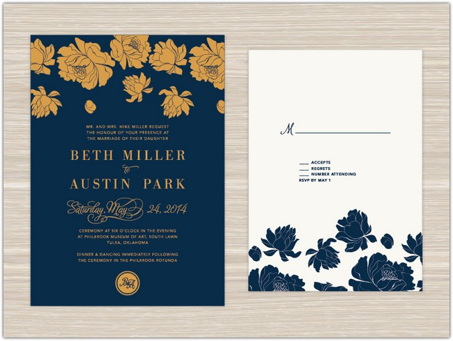 Simple Yet Classy Invitation Card