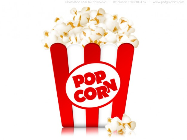 Small Popcorn Pouch Mockup