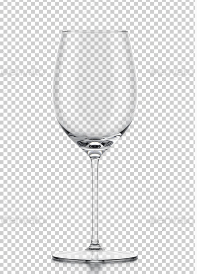 Transparent Wine Glass Vector Illustrator