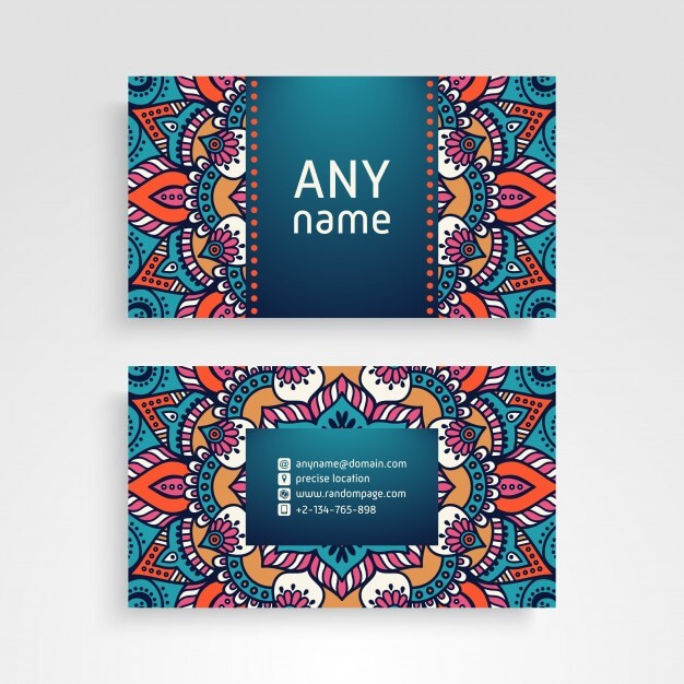 Ultra Realistic Design Name Card Vector Format Image