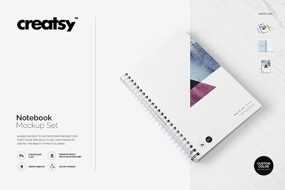 Ultra Realistic Notepad Template
