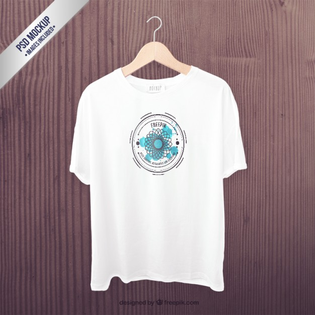 White T-shirt PSD Design