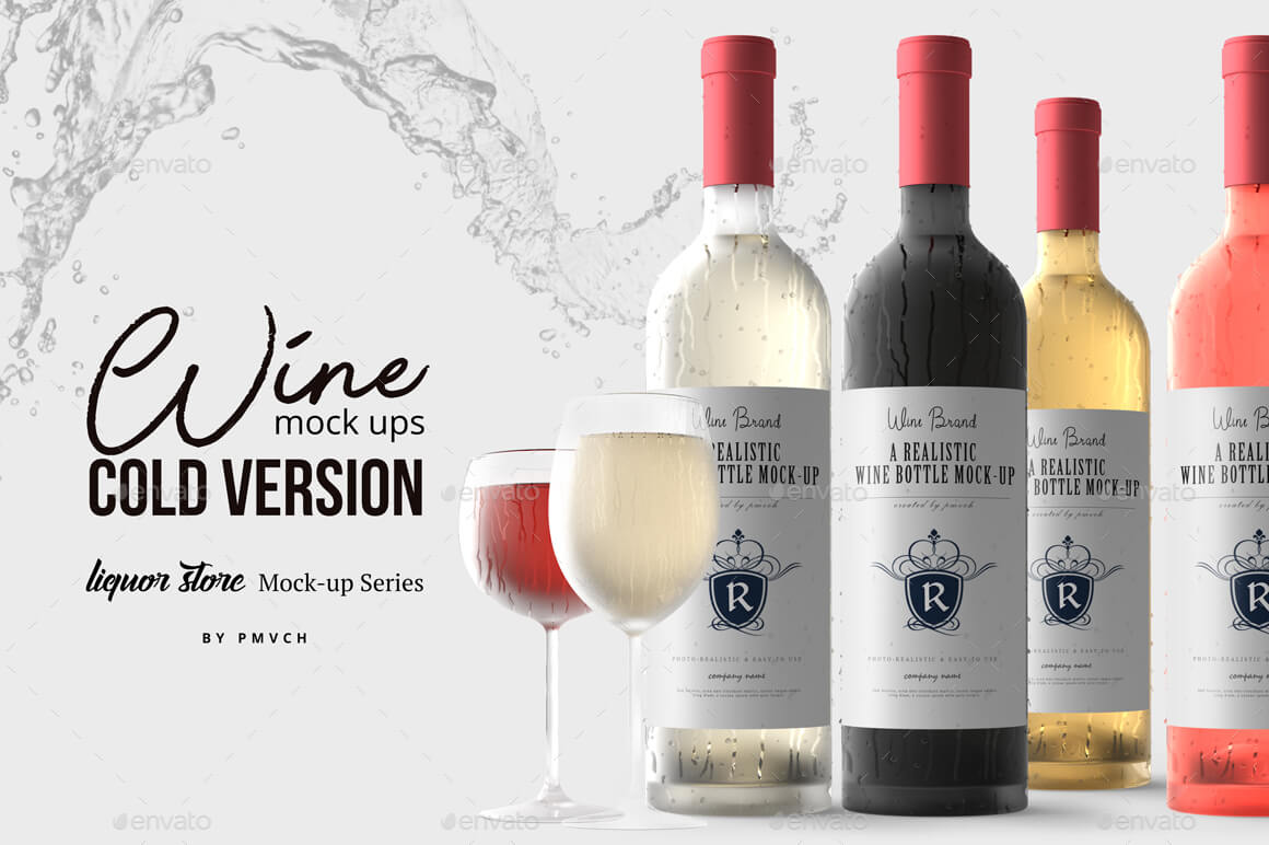 Wine Mockup - Cold Version