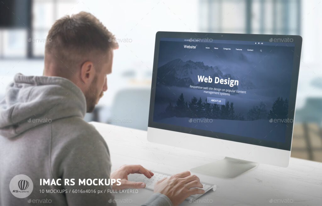 iScreen Desk Mock-Up