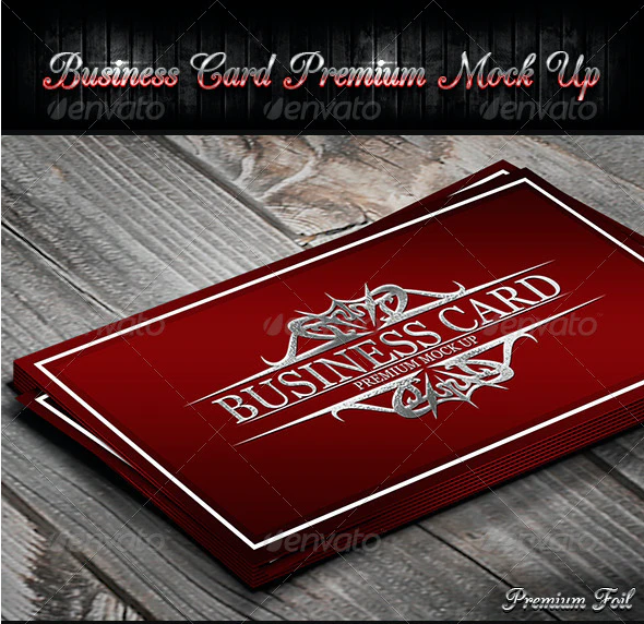 Business Card Premium Mock-Up