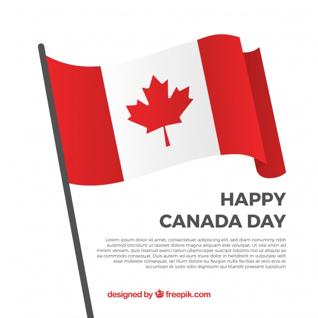 Canada Happy Day Flag
